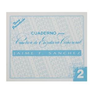 CUADERNOS DE CALIGRAFIA JAIME SANCHEZ # 2 (50)