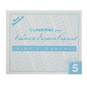 CUADERNOS DE CALIGRAFIA JAIME SANCHEZ # 5 (50)