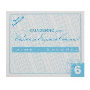 CUADERNOS DE CALIGRAFIA JAIME SANCHEZ # 6 (50)