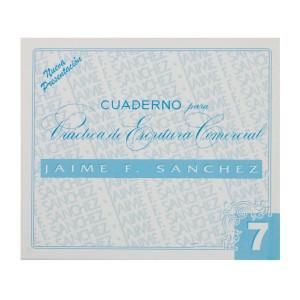 CUADERNOS DE CALIGRAFIA JAIME SANCHEZ # 7 (50)