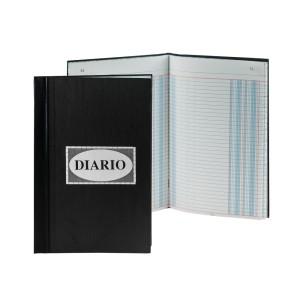 LIBRO EMPASTADO 50 H. (2 COLUMNAS)  DIARIO  (6)