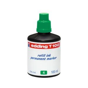 TINTA PERMANENTE EDDING T-100 DE 100 ML. VERDE (60)