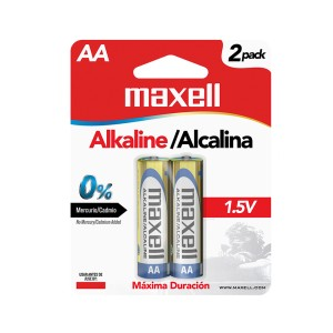 BATERIA MAXELL LR-06 AA ALKALINA BLISTER X 2  (48)