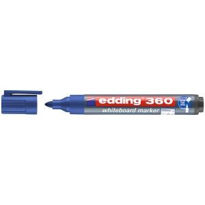 MARCADOR P/PIZARRA EDDING 360 P/REDONDA REC. 3 AZUL (40X10)