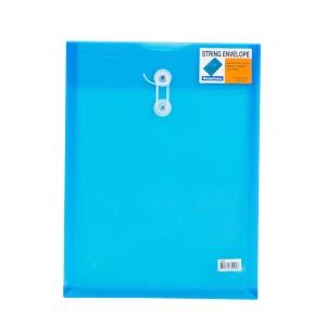 SOBRE PLASTICO BEAUTONE 3409-2 C/PITA CARTA AZUL (10X25)