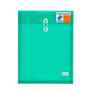 SOBRE PLASTICO BEAUTONE 3409-3 C/PITA CARTA VERDE (10X25)