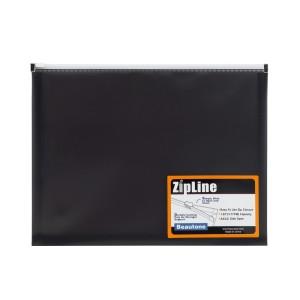 SOBRE PLASTICO BEAUTONE 3564-5 C/ZIPPER CARTA HUMO (72)