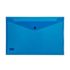 SOBRE PLASTICO BEAUTONE 3427-2 C/BROCHE OFICIO AZUL (10X12)