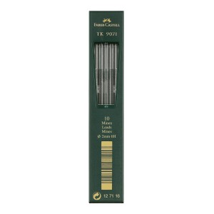 MINAS 2MM. FABER CASTELL 9071 TUBO X 10 – 6H (5)