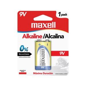 BATERIA MAXELL 6LF-22 9V ALKALINA BLISTER X 1 (48)