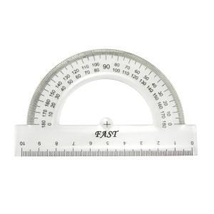 TRANSPORTADOR FAST B10 DE 180 ° 10.5 CMS.  (12X100)