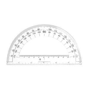 TRANSPORTADOR FAST C155 DE 180° 15.5 CMS.  (8X144)