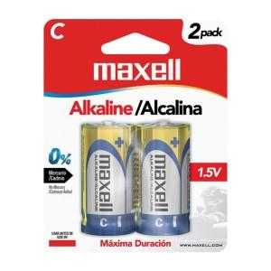 BATERIA MAXELL LR-14 C ALKALINA BLISTER X 2 (48)