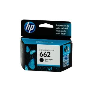TINTA HP 662 NEGRO P/1015/1515