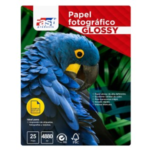 PAPEL FOTOGRAFICO FAST CX25 CARTA 200GRS GLOSSY  (36)