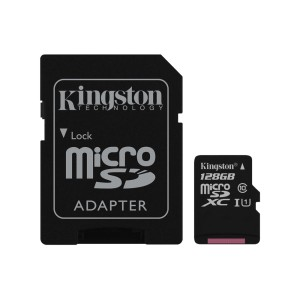 MEMORIA KINGSTON MICRO SD 128GB CL10 2