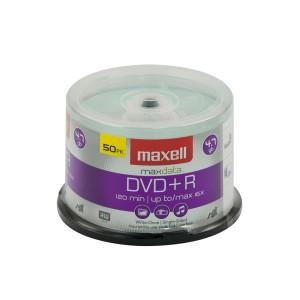 DVD+R MAXELL 4.7 GB. TUBO X 50 (10)