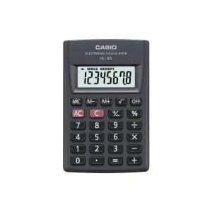 CALCULADORA DE BOLSILLO CASIO HL-4A-W 8 DIG. (100)