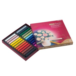 CRAYON PASTEL SIMBALION SP-24 SECO 24 COL. (6X6)