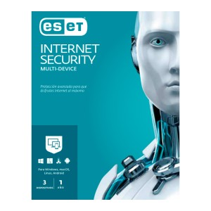 ANTIVIRUS ESET INTERNET SECURITY (3 USUARIOS)