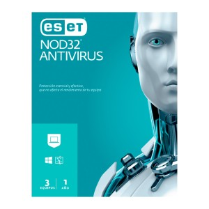 ANTIVIRUS ESET NOD 32 (3 USUARIOS)