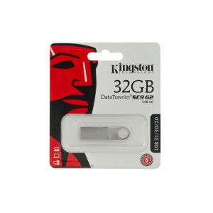 MEMORIA KINGSTON USB 32GB SE9 SILVER
