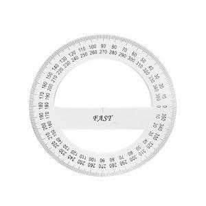 TRANSPORTADOR FAST A204 DE 360°  10 CMS.  ( 8X48 )