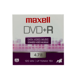 DVD+R MAXELL 4.7 GB. SOBRE DE CARTON  (6X50)