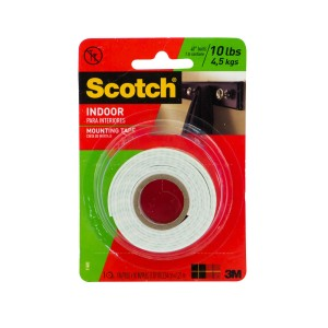 CINTA ADHESIVA SCOTCH 114P MOUNTING 1″X50″(24)