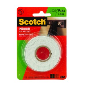 CINTA ADHESIVA SCOTCH 110P MOUNTING 1/2″X75″ (24) 2