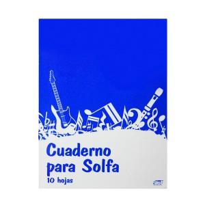 CUADERNO P/SOLFA CARTA 10H. (260)
