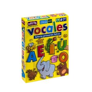 JUEGOS INICIALES VOCALES (20 PIEZAS) METTA 0821