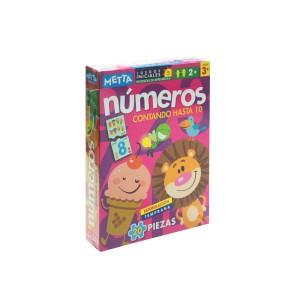 JUEGOS INICIALES NUMEROS (20 PIEZAS) METTA 0822