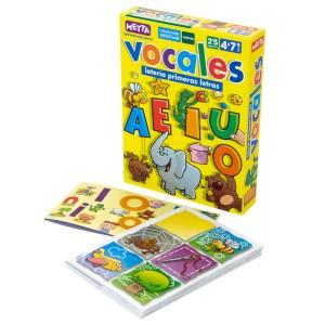 LOTERIA VOCALES PRIMERAS LETRAS METTA 0707