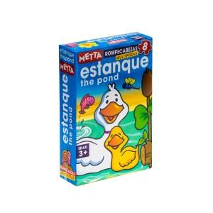 ROMPECABEZAS METTA EL ESTANQUE (8 PIEZAS) 7043