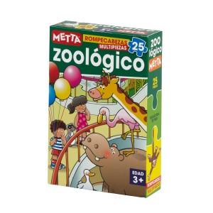 ROMPECABEZAS METTA EL ZOOLOGICO (25 PIEZAS) 7045