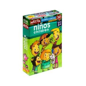 ROMPECABEZAS METTA NIÑOS (30 PIEZAS) 1005
