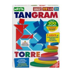 JUEGO TANGRAM TORRE METTA 1210