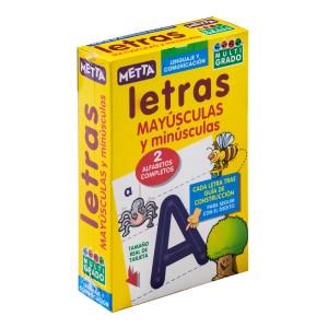 TARJETONAS LETRAS (MAYUS.Y MINUS.)  METTA 0051