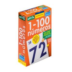 TARJETONAS NUMEROS 1-100 METTA 0052