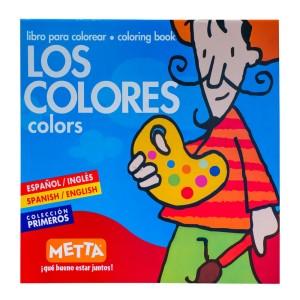 LIBRO PARA COLOREAR LOS COLORES METTA 3038
