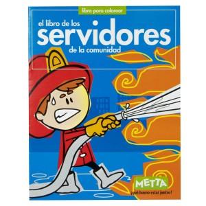 LIBRO PARA COLOREAR LOS SERVIDORES METTA 3027