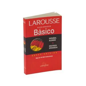 DICCIONARIO LAROUSSE BASICO ESP-ALEMAN