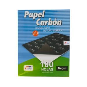 PAPEL CARBON FAST CX100 DORSO NEGRO CARTA (10X5)