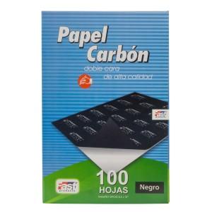 PAPEL CARBON FAST CX100 DORSO NEGRO OFICIO (10X5)