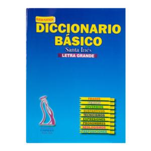 DICCIONARIO SANTA INES MEDIANO EN PAPEL BOND (72)