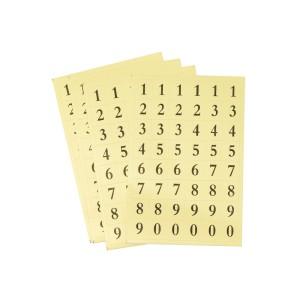 ETIQUETAS FAST 610 NUMEROS 6 HOJAS (12X24)