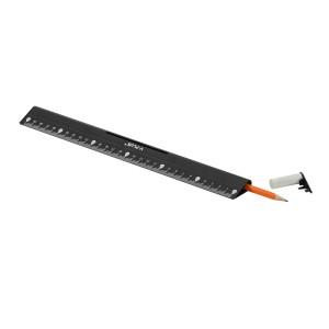 REGLA PLASTICA Y-PLUS 30 CMS. RX1309 4 EN 1 (20X12)