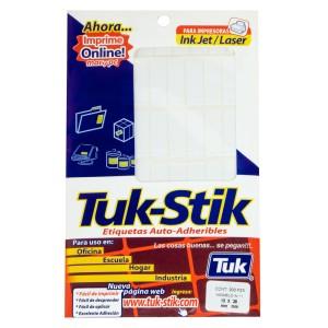 ETIQUETAS TUK-STIK A-11 13X38MM SOBRE X 900 U. (20)