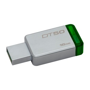 MEMORIA KINGSTON USB 3.0 16GB DT50 GREEN